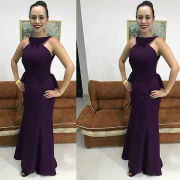 Purple/Prom Dresses 2017 Red Sexy Ruffles Evening/Pageant