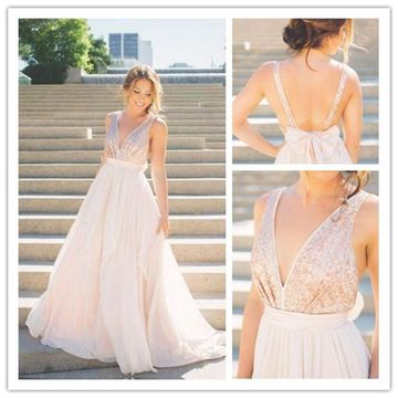 Beige Pageant/Formal/Prom Dresses 2018